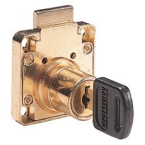 Surface Mounted Brass Plated Lock