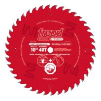 "Freud® 10"" x 40T Premier Fusion General Purpose Saw Blade - P410"