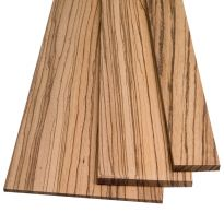 "Zebrawood Lumber by the Piece-1/8"" Thickness"