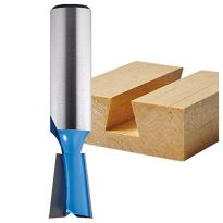 "Rockler 7° Dovetail Router Bit for Porter-Cable 4210 and 4212 Dovetail Jigs - 17/32"" Dia x 3/4"" H x 1/2"" Shank"