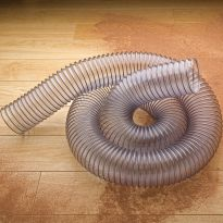 "Clear Flexible Hose - 10 Feet Long 4"" Diameter"