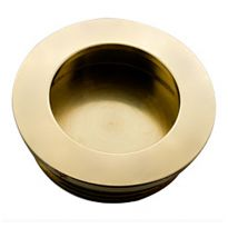 Brusso® Solid Brass Recessed Pulls, CP-200
