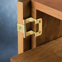 270° No-Mortise Overlay Hinge