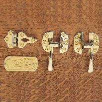 Solid Brass Icebox Hardware-Choose style