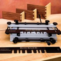 Two precisely matched templates  � no need to mess with alignment! (Dovetail Jig not included)
