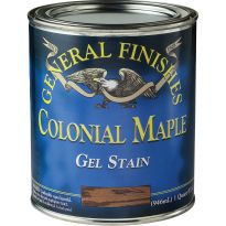 General Finishes Gel Stain, Colonial Maple