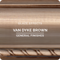 GF Glaze, Van Dyke Brown, Pint