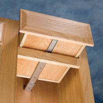 Classic Wood Center Mount Drawer Slide Rockler Woodworking And