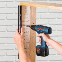 "Rockler JIG IT® Shelving Jig and 1/4"" Bit Set"