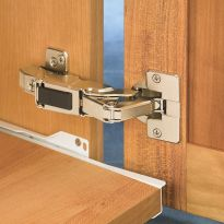 Small footprint works well on narrow frame doors