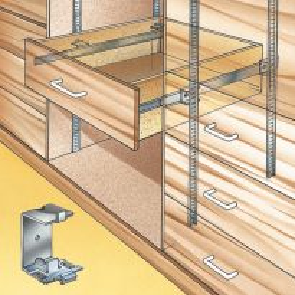 Accuride Shelf Standard Slide Brackets