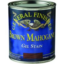 General Finishes Gel Stain, Brown Mahogany