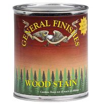General Finishes Water Based Wood Stain, Walnut