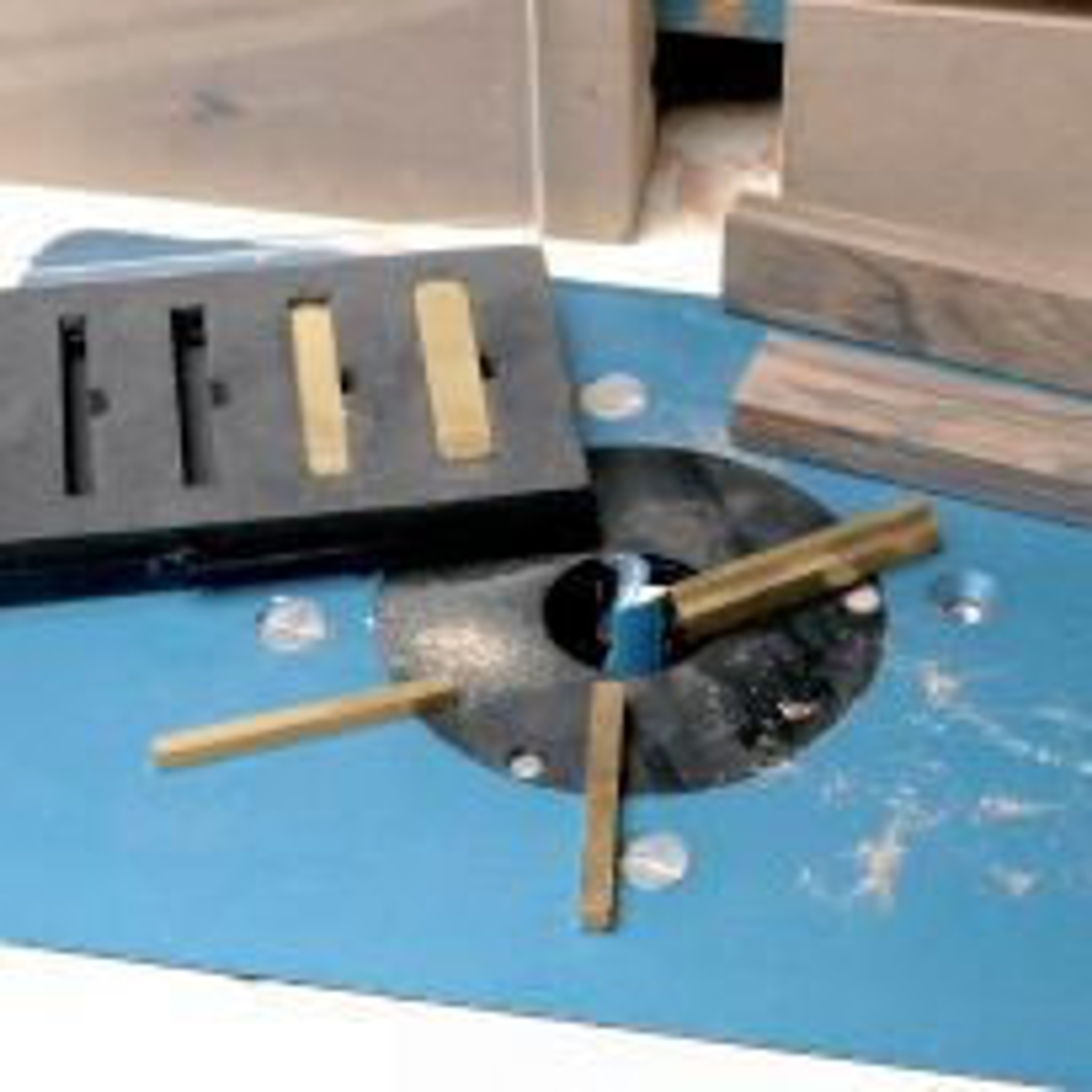 Rockler Precision Brass Setup Bars