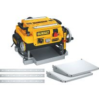 37386 - DeWalt DW735x 13' 2-Speed Planer comes with FREE infeed and outfeed tables and an extra set of knives