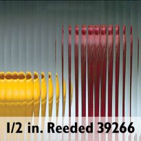 "1/16"" Reeded Textured Glass"