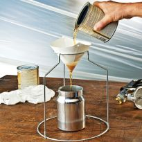 Virtually eliminates solids and particles from various finishes