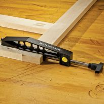 Works perfectly with 3/4' thick face frames and casework and stock up to 3' wide
