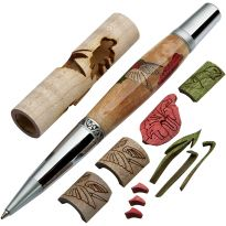 Create a beautiful inlaid pen (pen hardware sold separately)