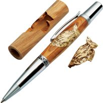 Create a beautiful inlaid pen blank (pen hardware sold separately)