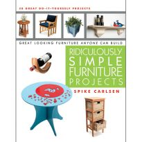 Ridiculously Simple Furniture Projects Book