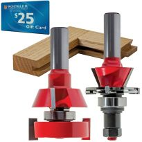 "Freud® 99-762 Shaker Stile and Rail Router Bit - 1-11/16"" Dia x 1/2"" Shank"