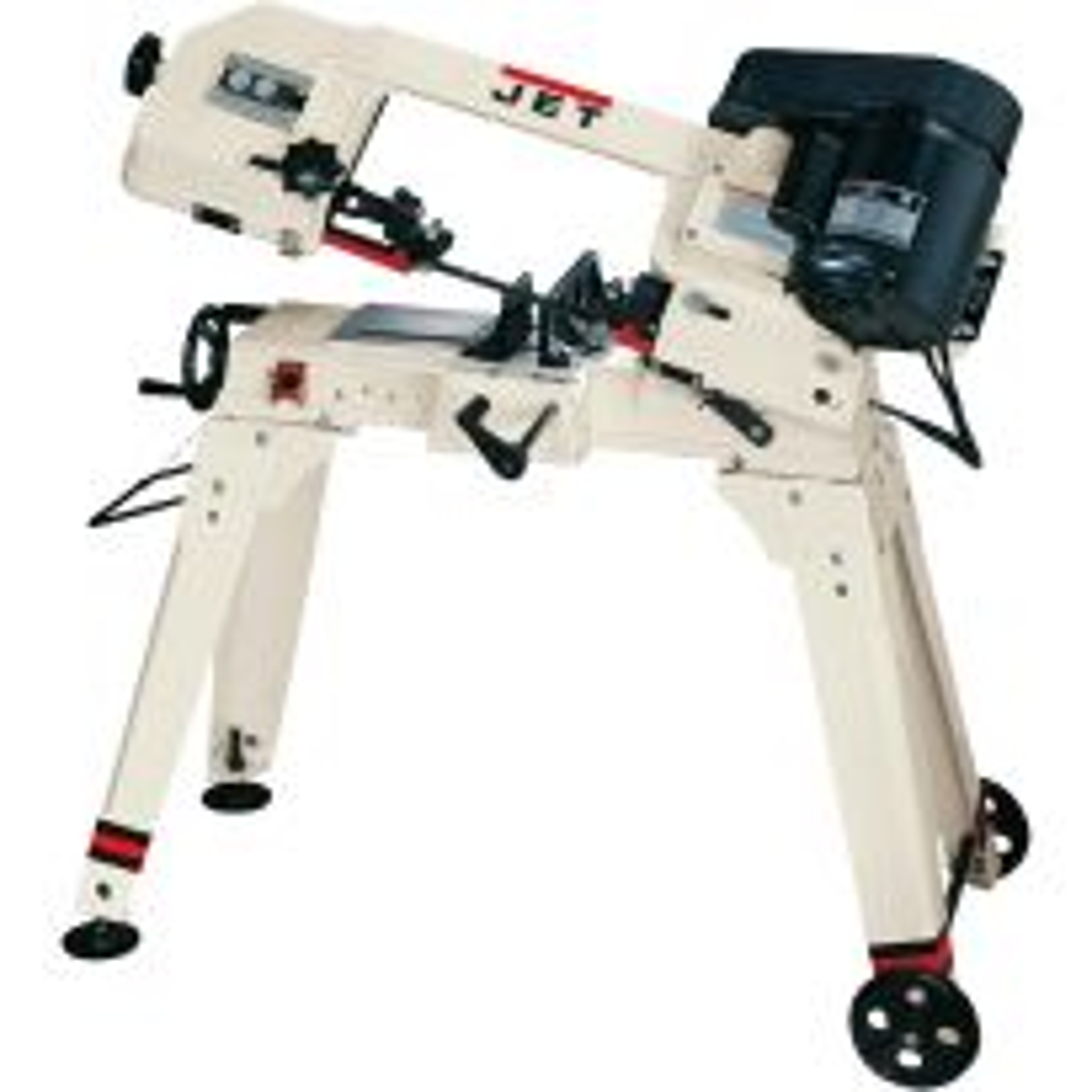 Jet® HVBS-56M 5'' x 6'' Horizontal/Vertical Bandsaw, 115/230V, Single-Phase