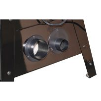 SawStop Contractor Table Saw Dust Collection Panel