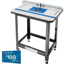 Rockler High Pressure Laminate Router Table, Fence, Stand and Phenolic Plate B