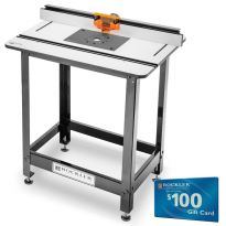 Rockler Pro Phenolic Router Table, Pro Fence, Stand and Plate A
