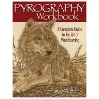 Pyrography Workbook: A Complete Guide to the Art of Woodburning, Book