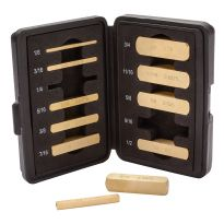 Rockler Precision Brass Setup Bars-Master Set