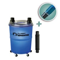 Rockler Dust Right Dust Separator with 2-1/2'' Expandable Hose