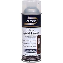 Deft Semi-Gloss Wood Finish Spray
