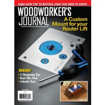 Woodworker's Journal – September/October 2018 | Rockler