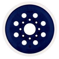 Bosch 5'' 8-Hole Hook & Loop Backing Pad, Hard