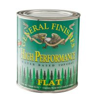 General Finishes EF High Performance Polyurethane Top Coat - Flat