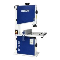 10 In. deluxe Bandsaw #10-306 includes numerous new features that make this Bandsaw extremely easy to operate and make adjustments to the blade, guides and fence.