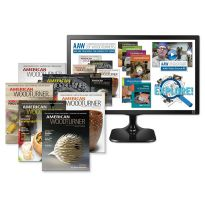 Enjoy 12 months of access to the full online suite of resources from the American Association of Woodturners, plus a print subscription to American Woodturner magazine!