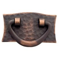 "Dark Copper Stickley Pull, 3-1/4"" W x 1-13/16"" H"
