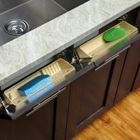"""Sink Front Tip-Out Tray - Rev-a-Shelf 6572 Series - 11"""" Wide"""