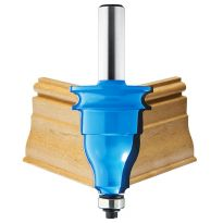 "Rockler Beaded Base Molding Router Bit - 1-5/8"" Dia x 2"" H x 1/2"" Shank"