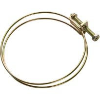 "4"" Spring Hose Clamp, Pack of 5"