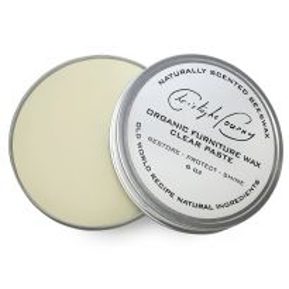 Christophe Pourny Clear Paste Wax, 6 oz.