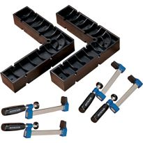 Includes two original Clamp-Its and four Clamp-It bar clamps