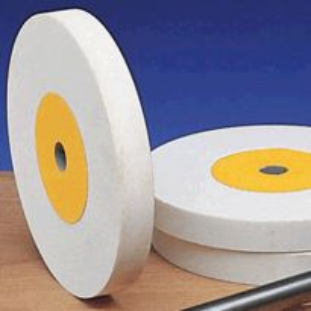 Aluminum oxide grinding wheels
