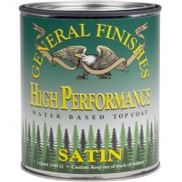 General Finishes High Performance Water-based Top Coat Satin