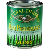 General Finishes High Performance Water-based Top Coat Gloss