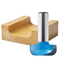 "Rockler Dish Carving Router Bit - 1"" Dia x 1/2"" H x 1/4"" Shank"