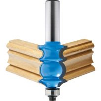 "Rockler Specialty Molding Router Bit - 1"" Dia x 1-3/8"" H x 1/2"" Shank"